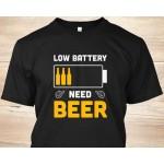 Unisex t-shirt I NEED BEERR