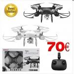 Drone Quadrone Με Wifi K3 & ΚΑΜΕΡΑ DRNCM